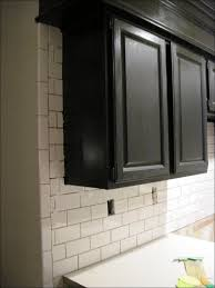 kitchen subway tile floor diy tile backsplash handmade subway
