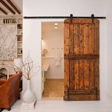 Barn Door Interior Recycle An Barn Door Into A Beautiful Sliding Door Home