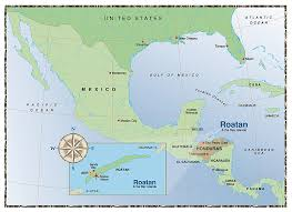 map of roatan honduras flying to roatan anthony s key resort roatan honduras