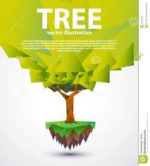 tree banner design stock vector image of brochure season 34523838