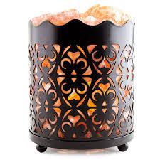 amazon com crystal decor natural himalayan salt lamp with salt