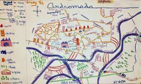 Mason Ohio Map by The Adorable Maps Today U0027s Cartographers Made As Kids