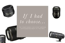 wedding photography lenses three lenses every wedding photographer needs