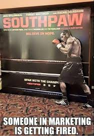 Meme Boxing - boxing meme southpaw movie poster does not feature a southpaw