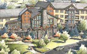 the cottage at the country club lodge balfour rocky mountain independent living facility dtj design