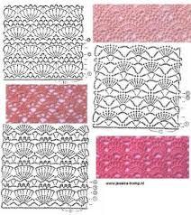 pattern of crochet stitches 464 best shell stitch crochet images on pinterest knitting