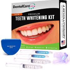 how to use teeth whitening kit with light premium teeth whitening kit for home use made in usa faster