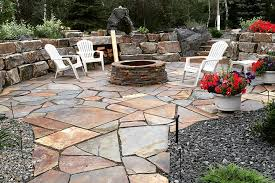 Flagstone Firepit Riverstone Mining Flagstone Patio Firepit Cls