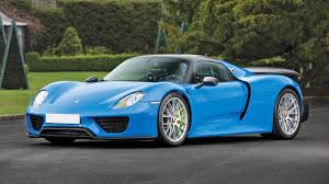 porsche riviera blue paint code classified of the week the perfect porsche 918 spyder top gear