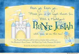 Royal Blue Baby Shower Decorations - royal themed baby shower invitations neepic com