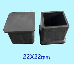 plastic table leg feet 22 22mm table feet cover cap wood feet leg furniture square tube