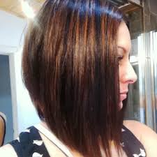 long stacked haircut pictures long bob haircut with side swept bangs hairstyles galleries