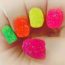 neon nail designs for short nails colorful neon nail designs