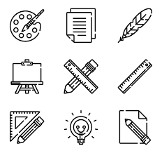 Painting Icon Paint Brush Icons 1 136 Free Vector Icons