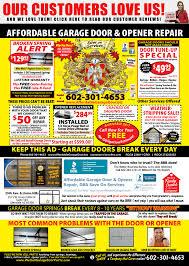 where to buy garage door struts garage door parts phoenix carefree cave creek az