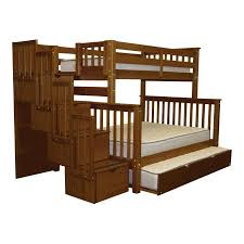 Bunk Beds King Bedz King Stairway Bunk Beds With 4 Drawers In The
