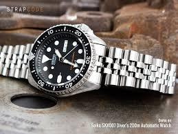 bracelet titanium seiko images 8 curved endlink bracelets for your seiko skx007 skx009 strapcode jpg
