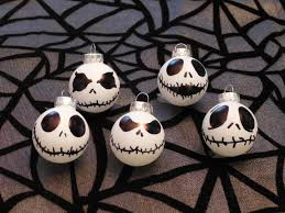 Mini Halloween Ornaments by Theresa U0027s Mixed Nuts Jack Skellington Halloween Tree