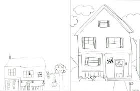 House Drawings by Children U0027s Art Young Rembrandts Kids Drawings