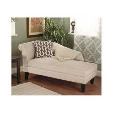 Bedroom Chaise Lounge Beige Storage Chaise Lounge Sofa Chair For