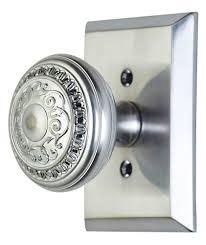Low Profile Interior Door Knob Backyards Door Handles Flat Wooden Knobs Knob Covers Handle