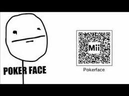 Meme Qr Code - meme face pokerface 3ds youtube