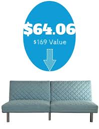 back walmart 64 06 quilted memory foam futon 169 value