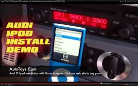 audi concert 2 aux input audi tt grom ipod adapter ipd3 aux mp3 audi concert radio