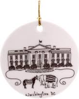 deal on washington dc cityscape ornament