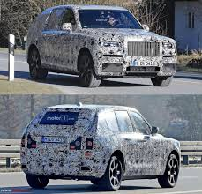 rolls royce starts testing awd system for its upcoming suv the