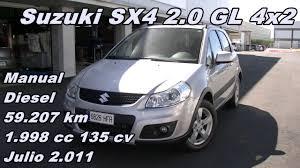 suzuki sx4 2 0 gl 2 011 manual diesel 135cv 59 207km suzuki