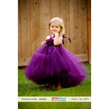 buy kids and baby purple flower birthday party tutu dress