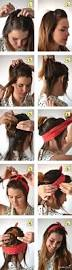 Hairstyle Diy by Best 25 Hairstyles With Headbands Ideas On Pinterest Headband