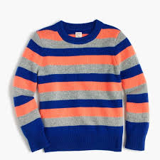 boys striped crewneck sweater boy sweaters j crew