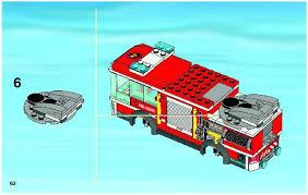 truck instructions fire truck instructions 60002 city