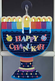 hanukkah window decorations gifts hanukkah led window menorah decoration
