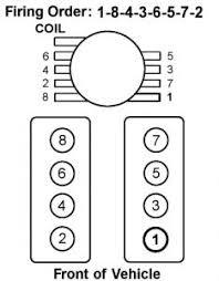 firing order diagram v8 four wheel drive automatic 100 000 miles