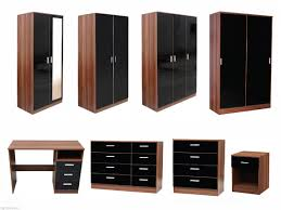 Black Furniture In Bedroom Dark Bedroom Furniture And Light Walls Awesome White Brown Wood