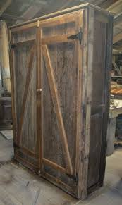 Barnwood Kitchen Cabinets 9 Best Barn Wood Cabinets Linen Closets Shelves Images On