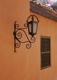 Mexican Wall Sconce Hacienda Style Iron Lighting Mexican Iron Lighting Spanish