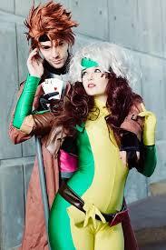 Men Rogue Halloween Costume 90 U2032s Rogue Gambit Cosplay Hopie Rogue Michael Devillar