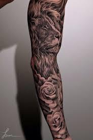 23 beautiful leo arm tattoos