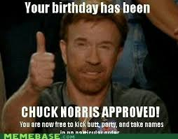 Memes For Birthdays - chuck norris birthdays pinterest chuck norris