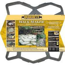 Quikrete Paver Base by Concrete Molds For Sale Quikrete Walk Maker Ideas Pathmate Mixing