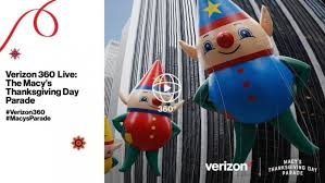 verizon expands sponsorship of nbcu s macy s parade coverage