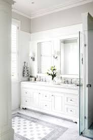 Gray Bathroom Cabinets Soothing Bathroom Color Schemes Bathroom Pewter And White Bathrooms
