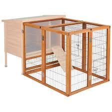 Rabbit Hutch Plans Ware Premium Plus Rabbit Hutch Hayneedle