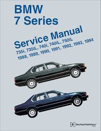 bmw 7 series e32 service manual 735i 735il 740i 740il 750il