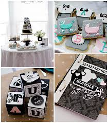 chanel baby shower girl baby showers kara s party ideas