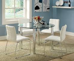 amazon com furniture of america clarks 5 piece dining set with